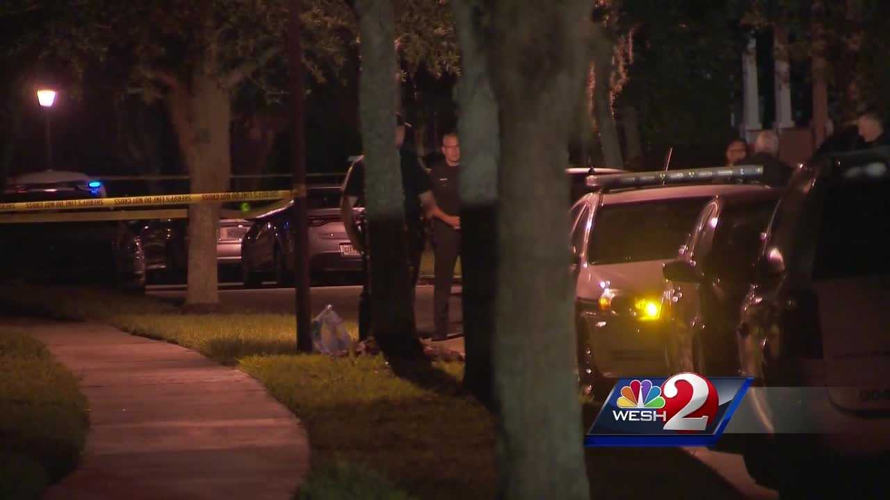 Sheriff's officials in Florida say a deputy fatally shot a suicidal man who refused to follow orders during a brief confrontation in a backyard near Orlando.