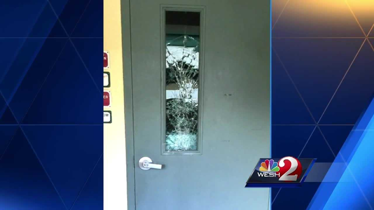 Cleanup is underway at DeLand Middle School after it was hit by vandals Wednesday night. Dave McDaniel reports.