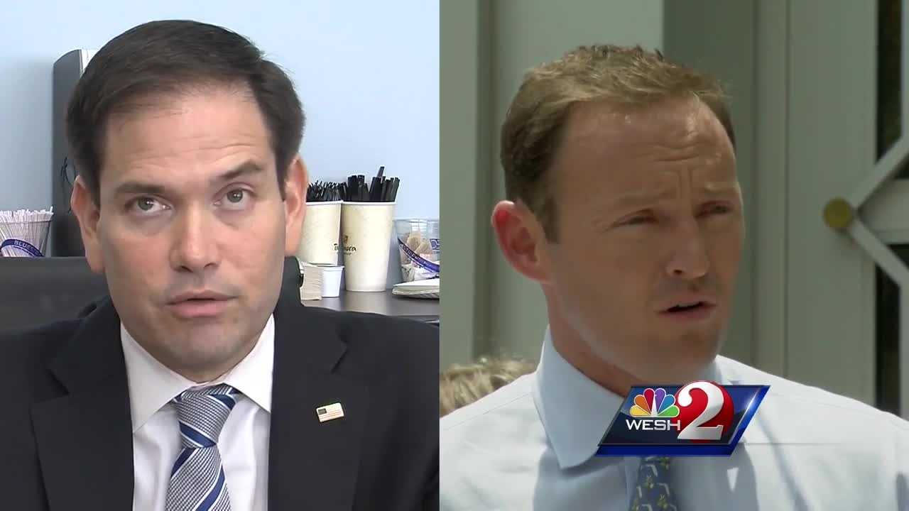 Rubio, Murphy in tight battle for Senate seat