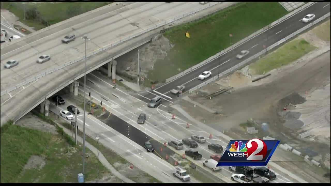 Big changes are now in place for an area of Interstate 4 and Orange Blossom Trail and it caught drivers off guard Friday morning.