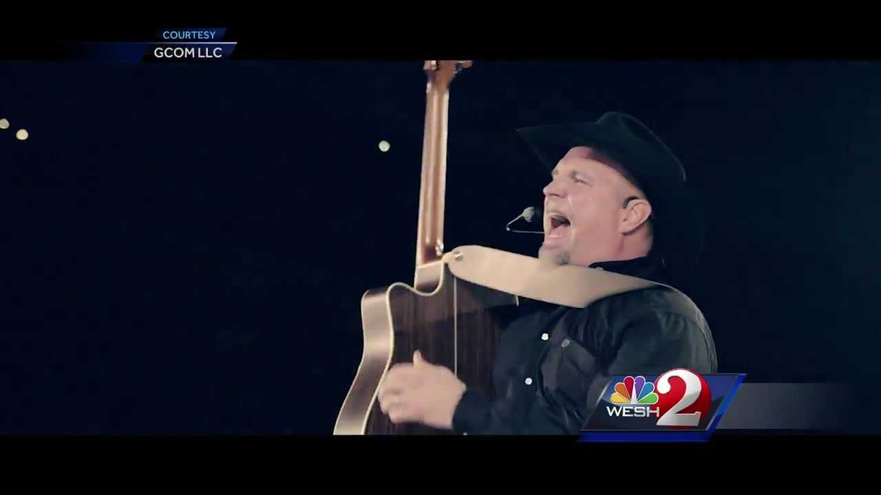 Country-music superstar Garth Brooks has added more shows at the Amway Center in Orlando.