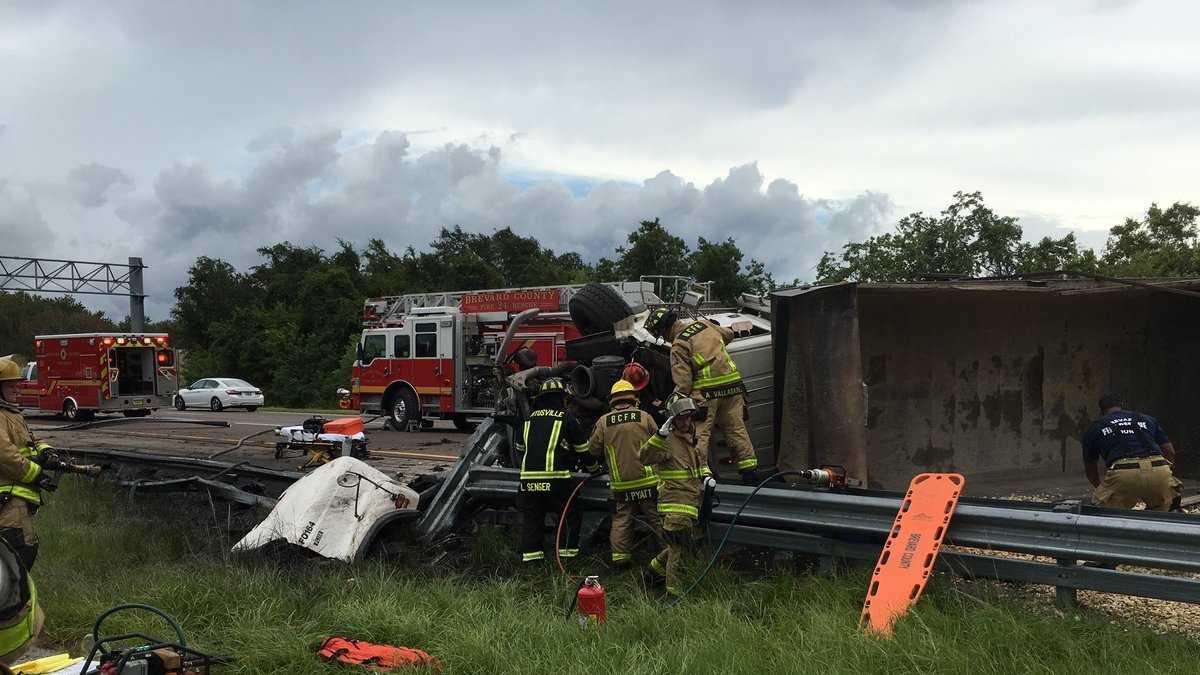 Brevard overturned gravel truck (1).jpg