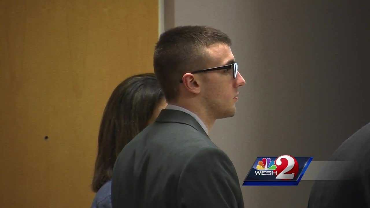 A man who was acquitted of a murder charge in Brevard County Monday is being described as ecstatic.