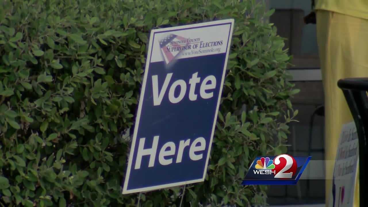 Voters trying to cast ballots in at least seven different Seminole County precincts were told they had already voted when they showed up.