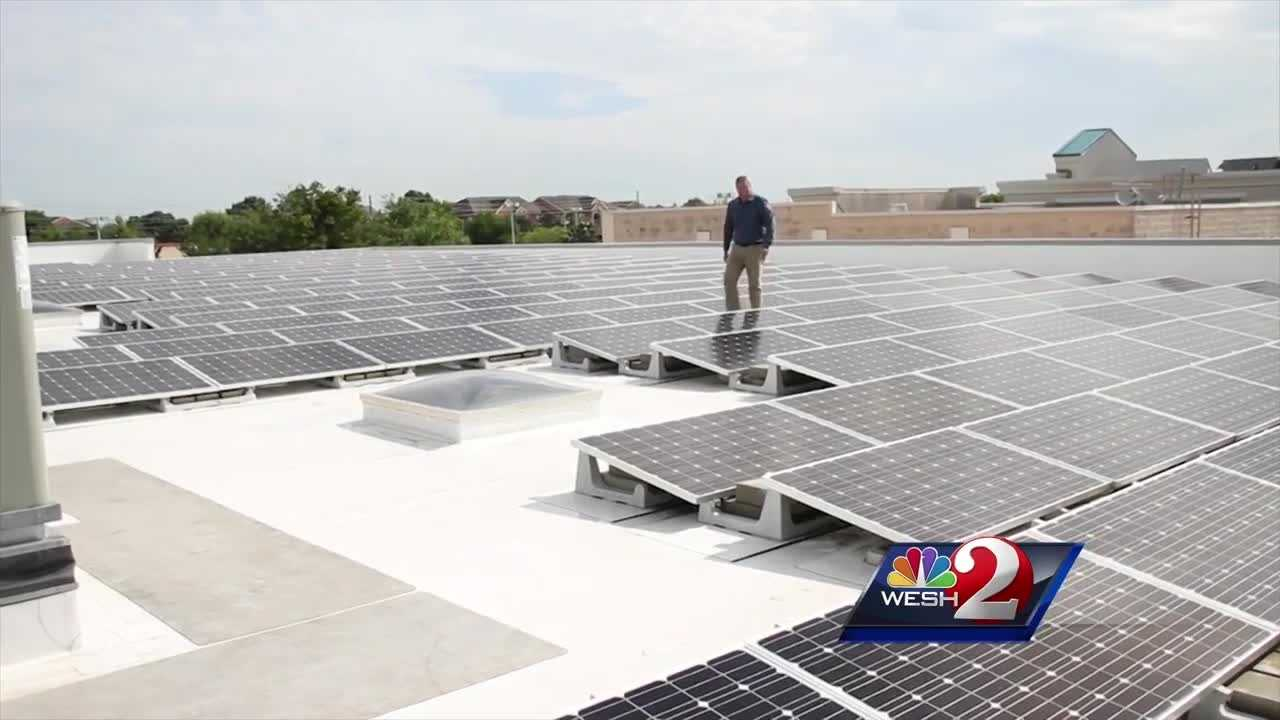 Voters have approved Amendment Four, which gives tax breaks to home and business owners to install and maintain solar panels.