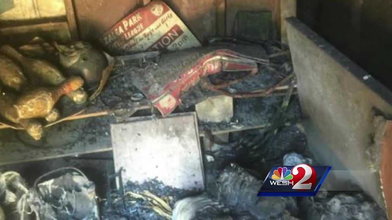 A Central Florida little league is scrambling to raise money after a recently destroyed thousands of dollars' worth of its gear.