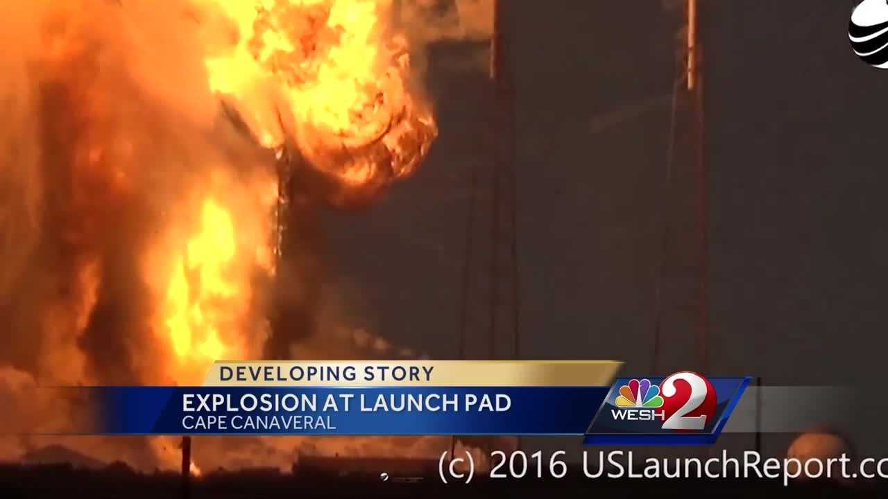 SpaceX was conducting a test firing of an unmanned rocket when an explosion happened Thursday morning. Dan Billow has the latest update.