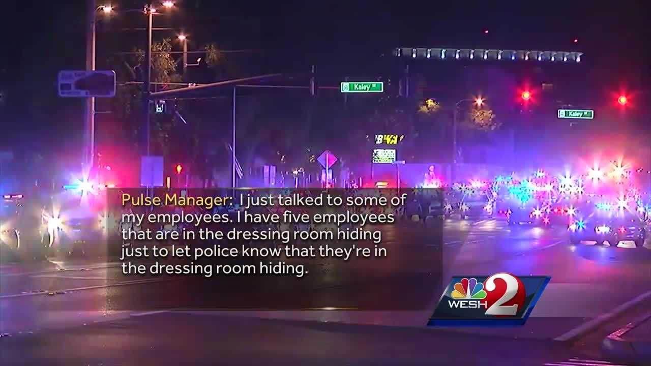 New 911 calls were released Thursday showing family and friends desperately trying to get, and relay, information about their loved ones trapped inside Pulse nightclub on June 12. Matt Grant reports.