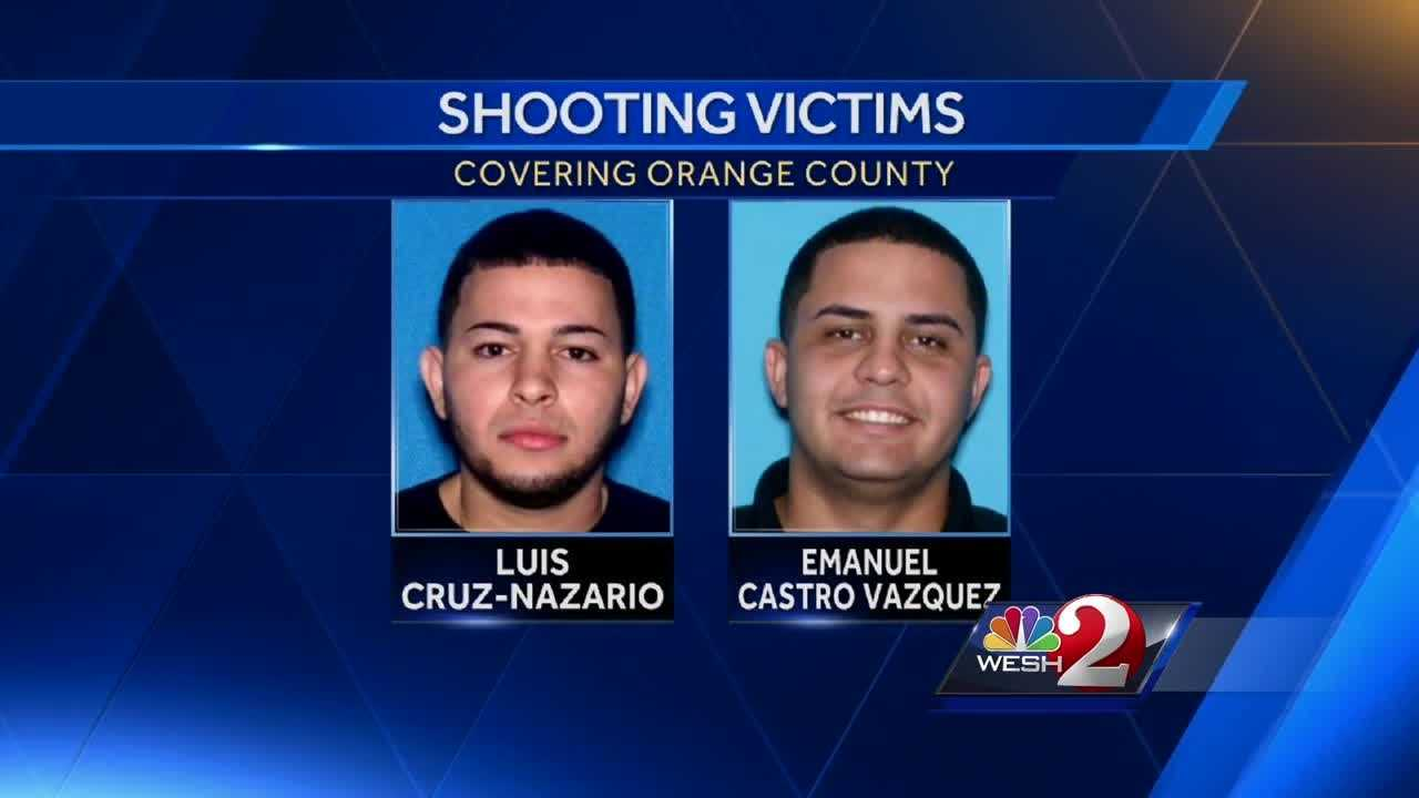 One of two men found shot to death Wednesday morning in Belle Isle was facing charges in a fatal shooting at an Orlando nightclub in February. Amanda Ober reports.