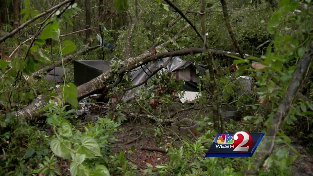 WESH 2 News is following the aftermath of Tropical Storm Hermine. In one case, a falling tree hit a man in Ocala and killed him. Amanda Crawford reports.