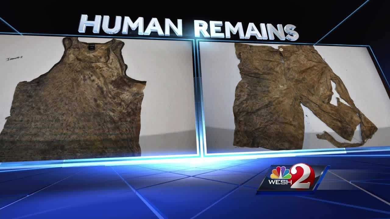 Deputies release images of clothes found with human remains