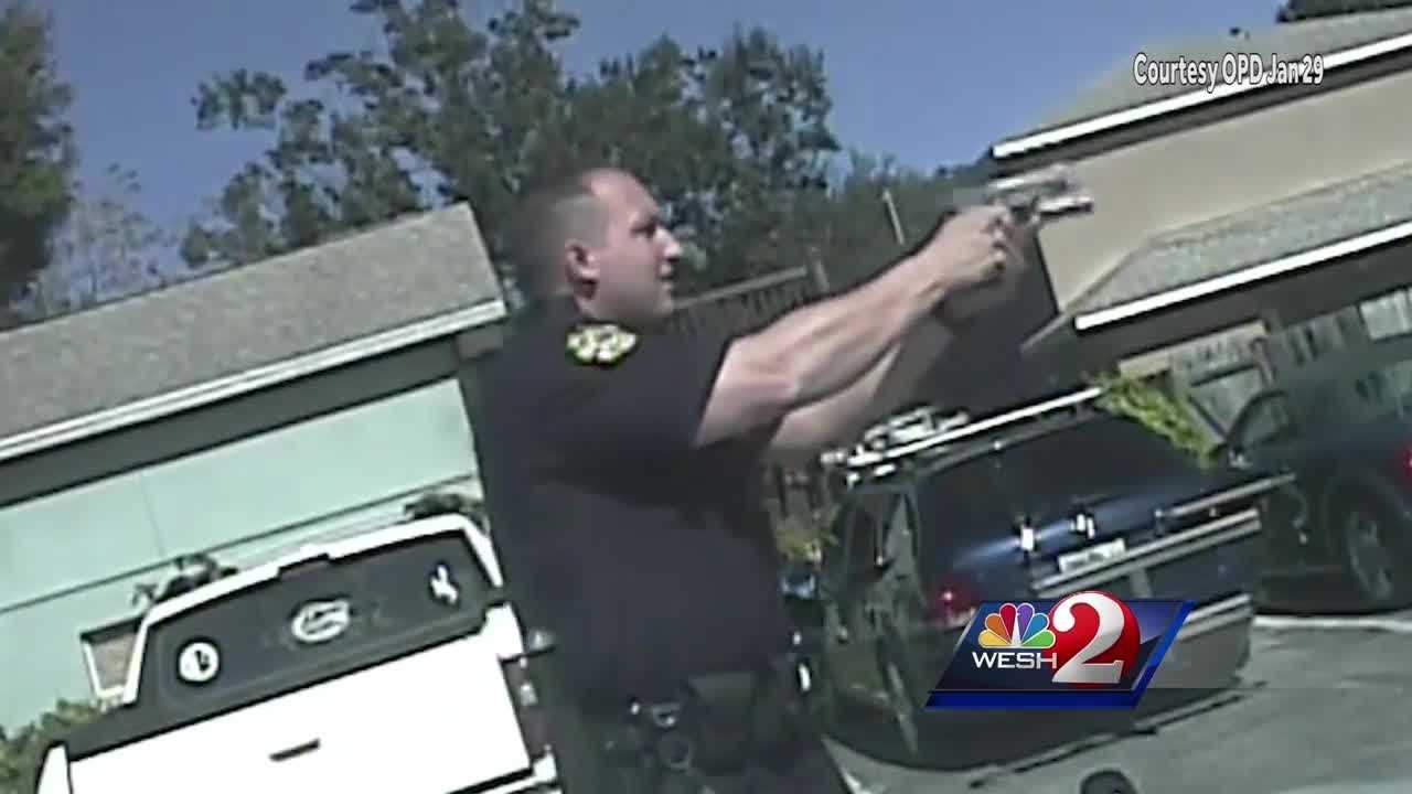 Orlando police officers are now prohibited from shooting into a moving vehicle to prevent a suspect from escaping, according to a new policy change.