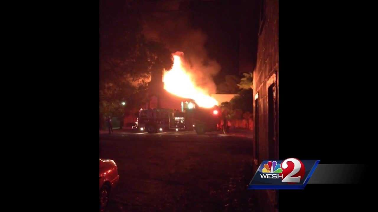 It was a crime against the Muslim community on Florida's Treasure Coast. A mosque, which had been attended by the Orlando nightclub shooter, was set on fire in what police are calling a case of arson. Dan Billow reports.