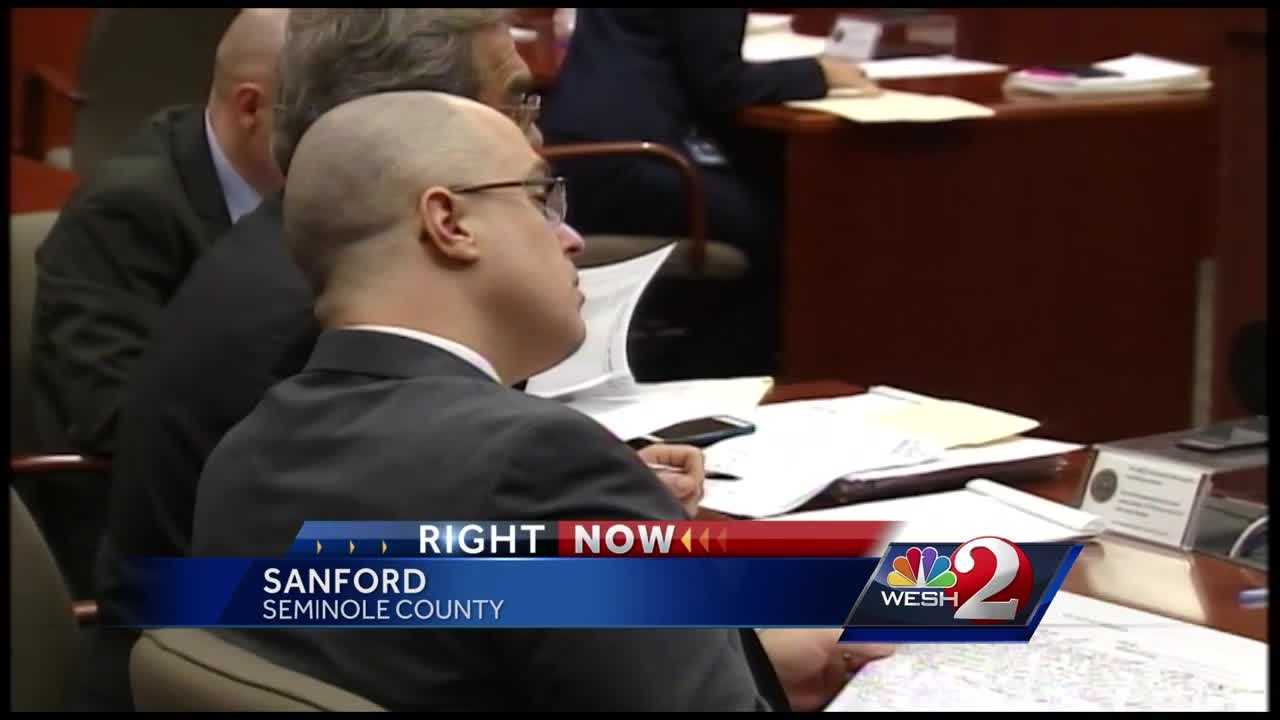 Matthew Apperson, the man arrested and charged with firing a shot at George Zimmerman during a road rage incident, was in court Monday. Michelle Meredith has the latest report.