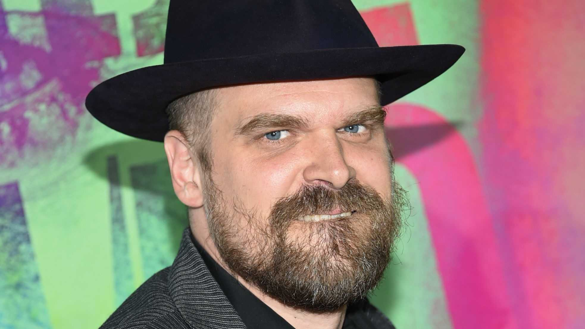 "David Harbour from ""Stranger Things"" will appear at Spooky Empire in Orlando."