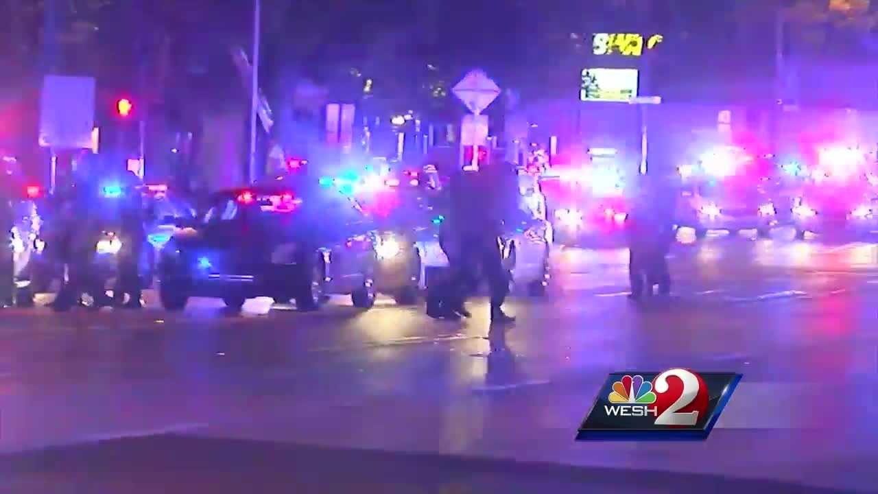 New 911 calls were released by the Orlando Police Department regarding the Pulse nightclub massacre. Matt Grant reports.