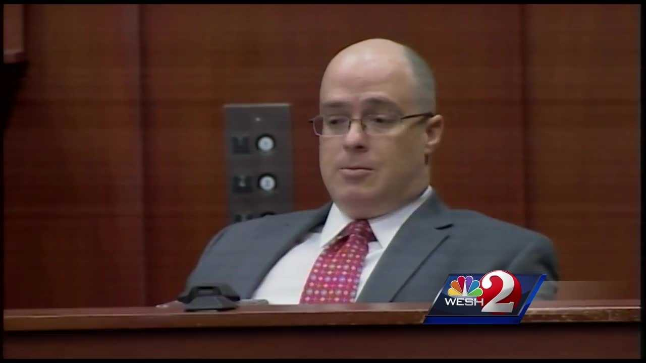 The man accused of trying to shoot and kill George Zimmerman took the witness stand Thursday, telling the jury he was scared to death he would be shot and killed by Zimmerman.