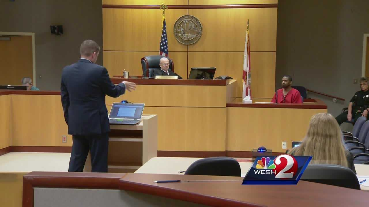 Despite a plea for lenience from the victim herself, a judge sentenced a Palm Bay man to 20 years in prison Friday for attempted murder. Dan Billow explains.