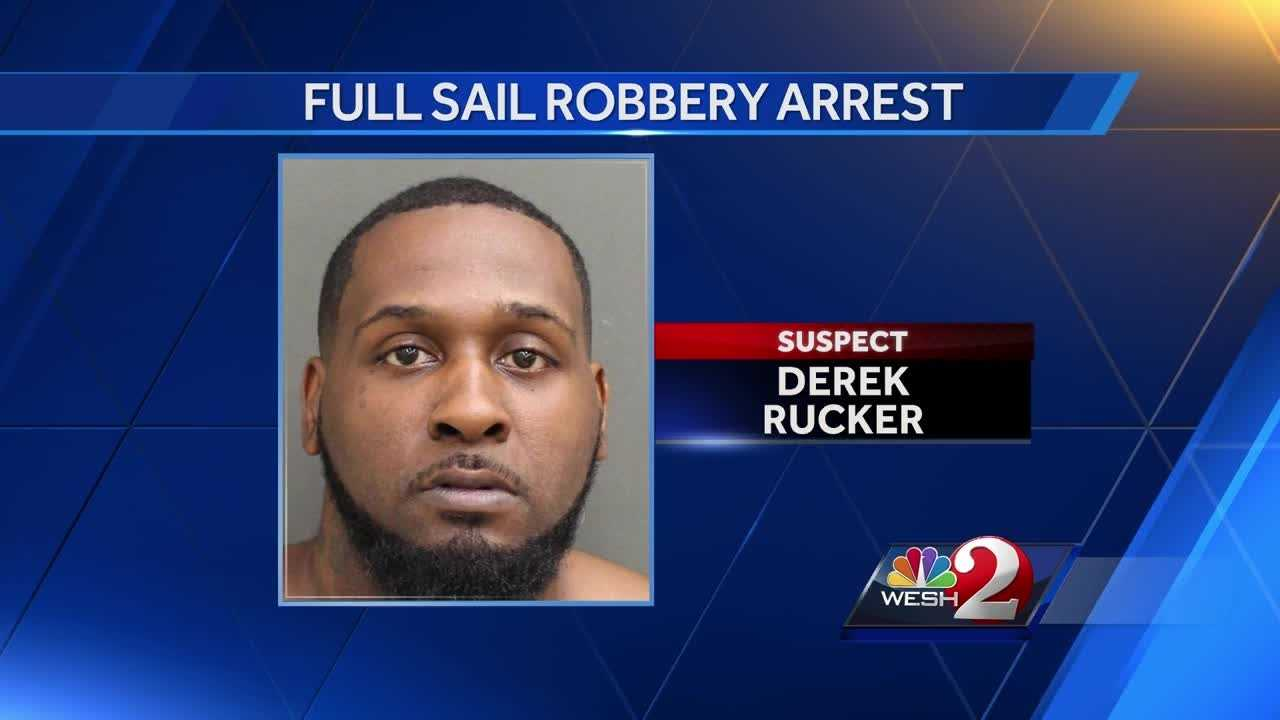 Man arrested in robbery of Full Sail University student