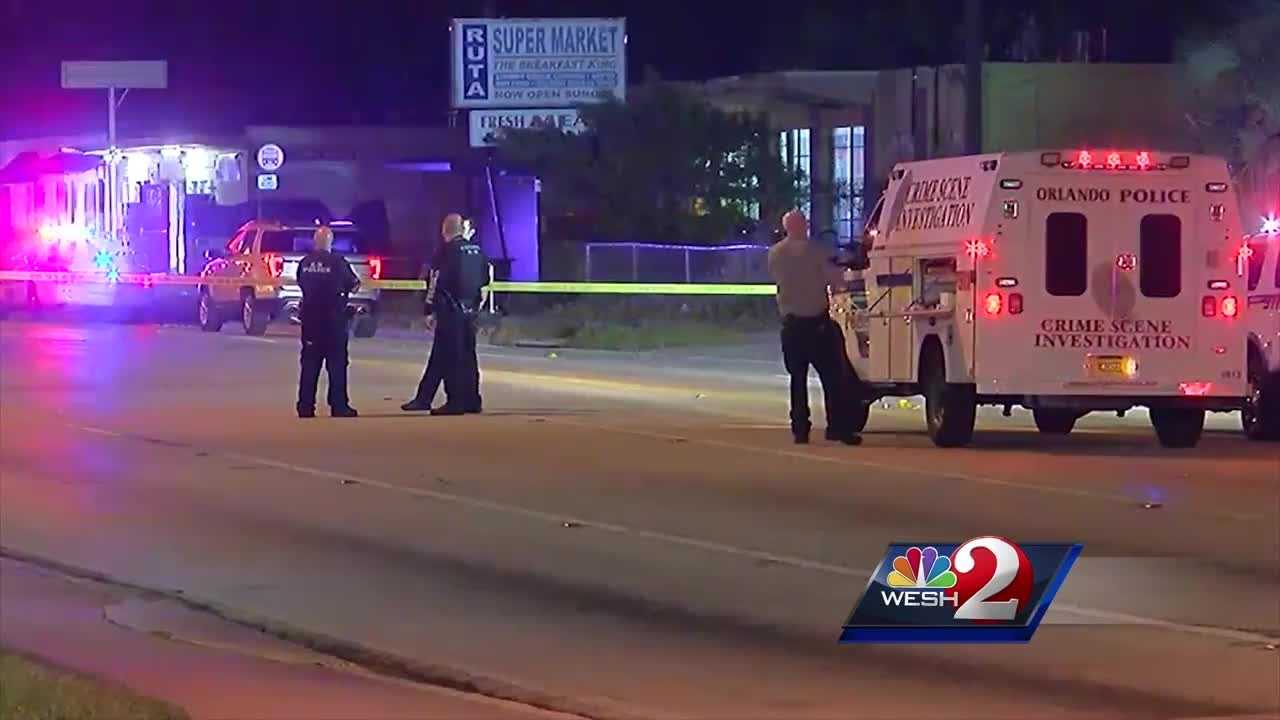 An early morning shooting in Orlando left one person dead and six others injured Saturday, police said.