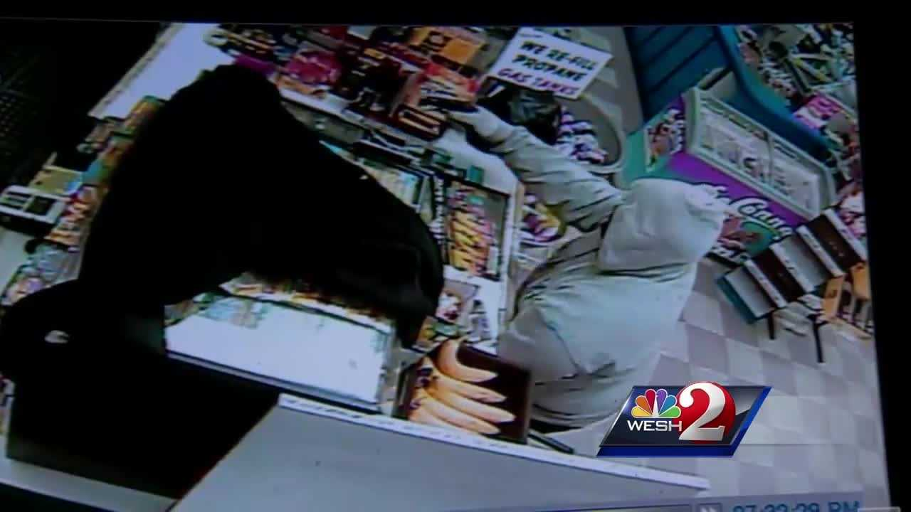A DeLand convenience store, DeLand Gas & Food, was robbed two nights in a row this week, authorities said. The incidents are the latest in a string of robberies under investigation in Central Florida.