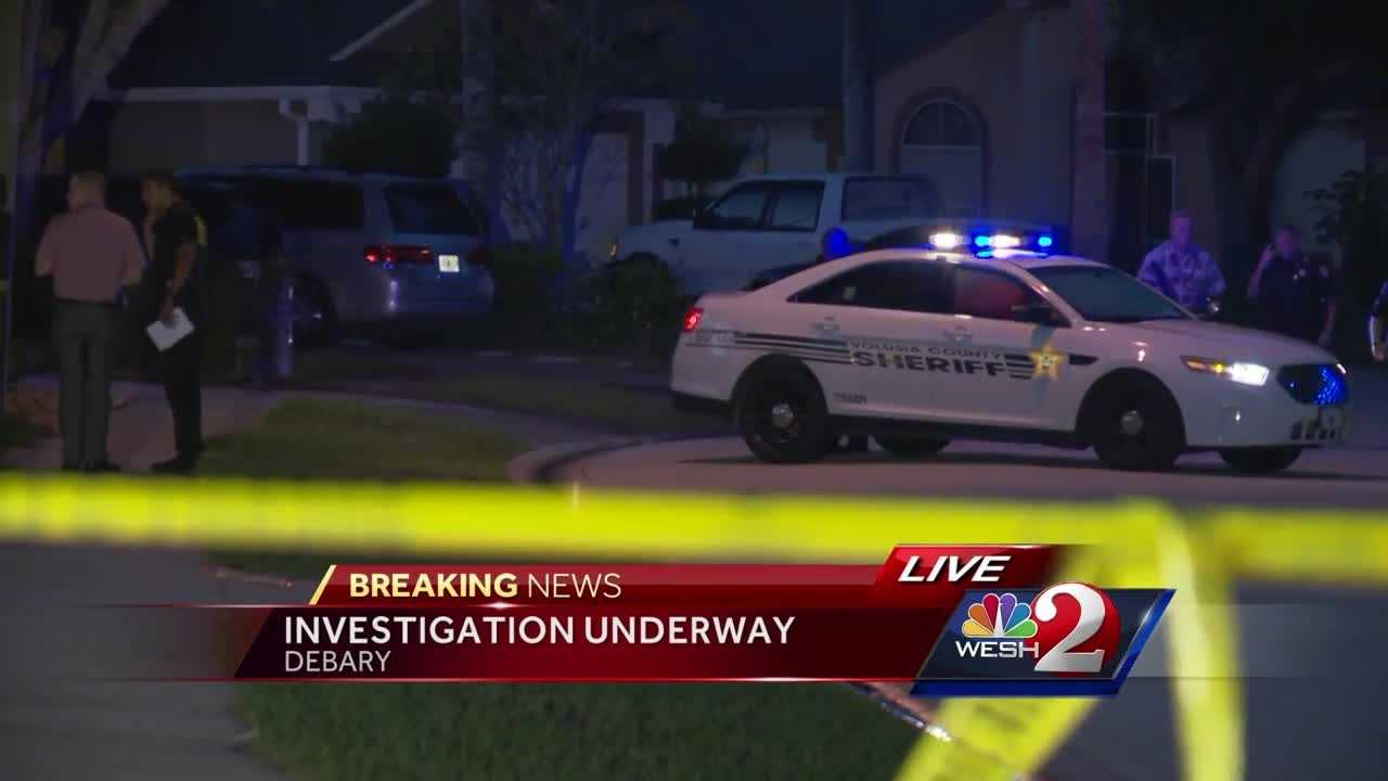 Authorities in Volusia County are investigating a shooting in DeBary.