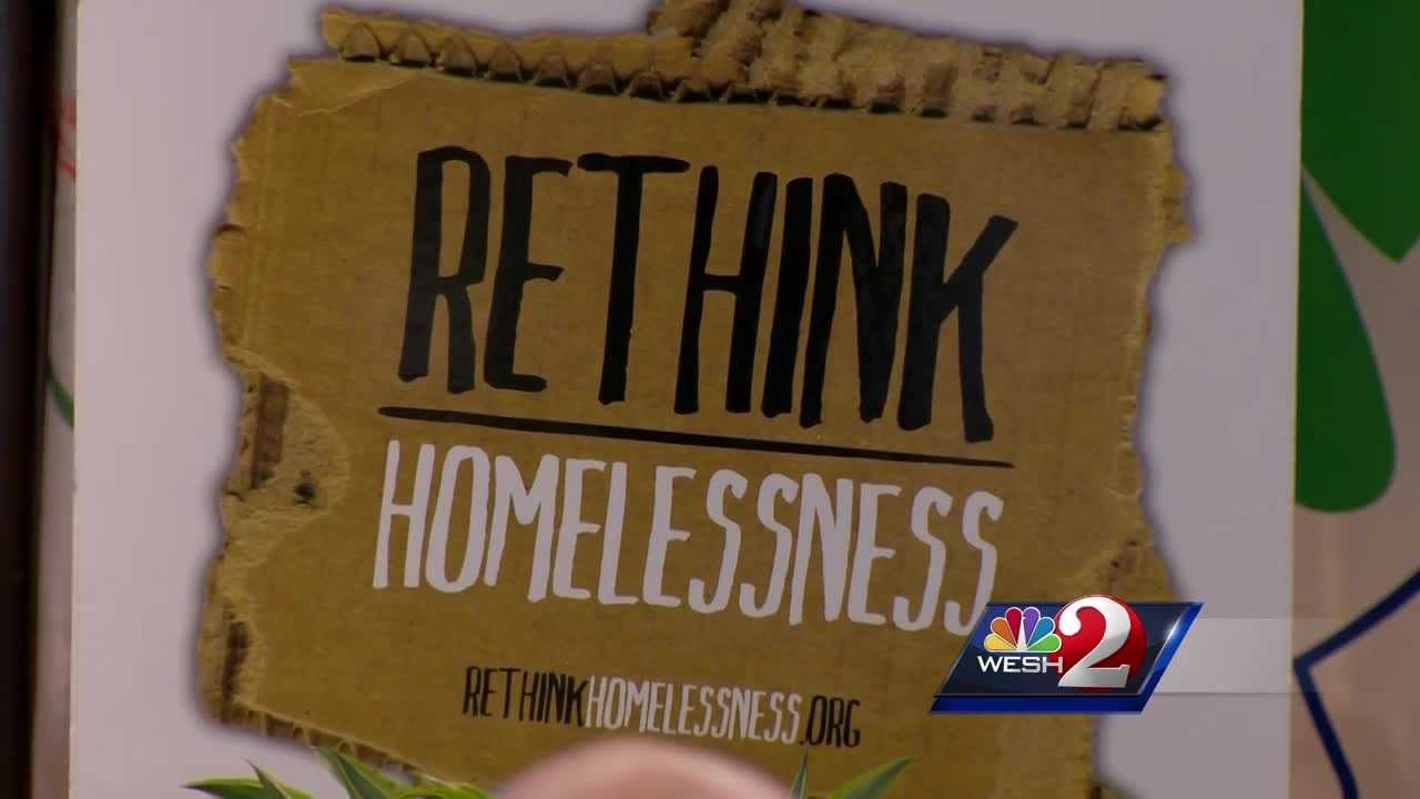Local programs are being recognized for their success in finding shelter for homeless veterans. National leaders are praising their efforts. Amanda Crawford reports.