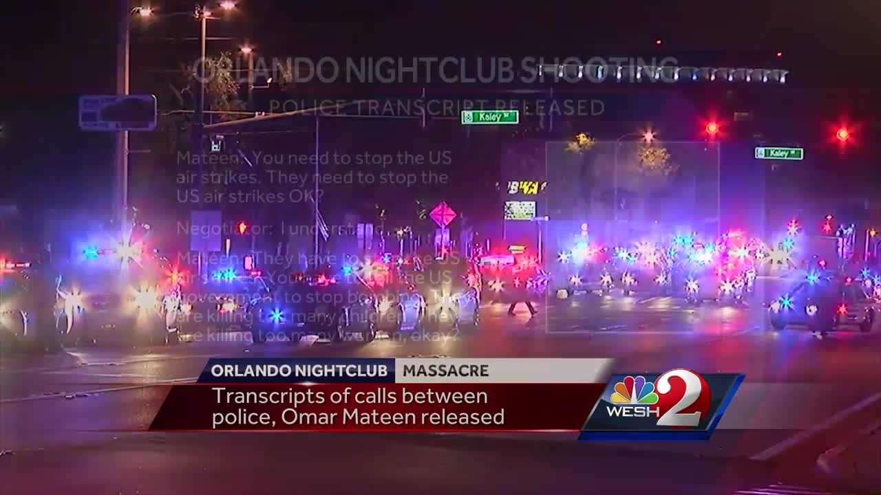 WESH 2 News is getting new insight into the Pulse nightclub shooter from transcripts of the 911 calls he made during his shooting rampage. Matt Grant reports.