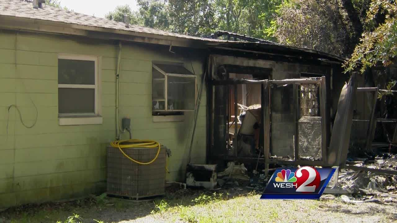 Investigators believe a phone charger started a house fire in Daytona Beach. Michelle Meredith reports.