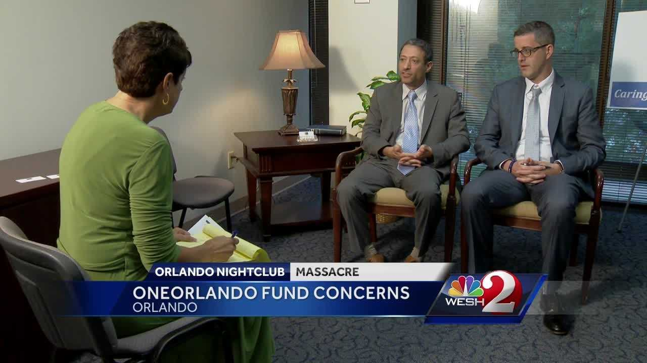An attorney is raising questions about the OneOrlando Fund. Money will be distributed started on Tuesday, but legal action has been filed that could delay that. Michelle Meredith reports.