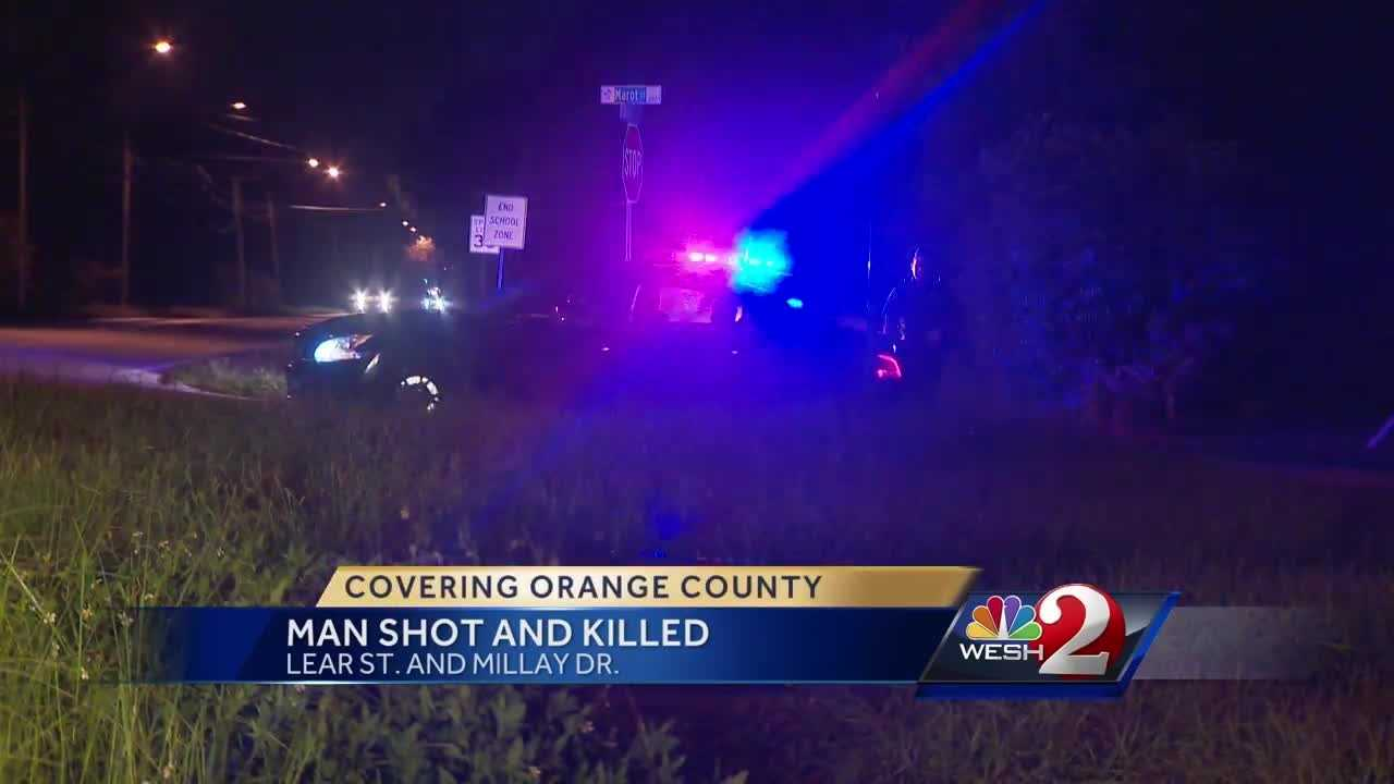 Man shot and killed in Orange County