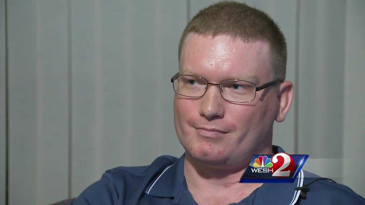 The Orlando police officer who was run over by a car while on duty says he's a victim, yet again. Chris Hush explains.