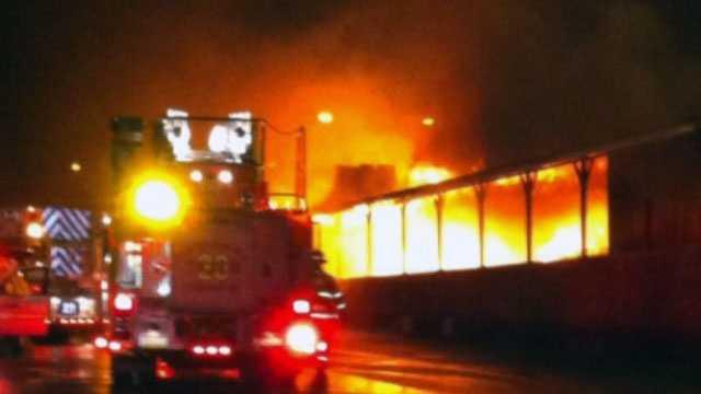 Lebanon school fire