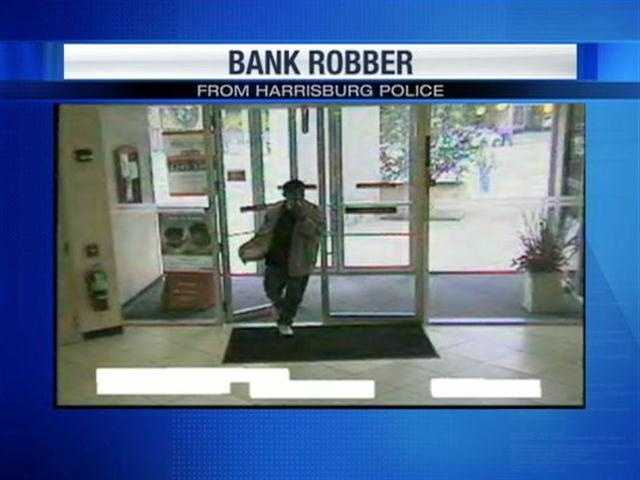 Last month in Harrisburg, the man who robbed the Sovereign Bank on Second Street also held a tissue over his face.
