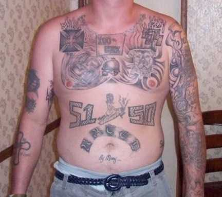 Although historically linked to the California based Hispanic prison gang the Mexican Mafia (La Eme), tension between the AB and La Eme is becoming increasingly evident as demonstrated by recent fights between Caucasians and Hispanics within the CDC.