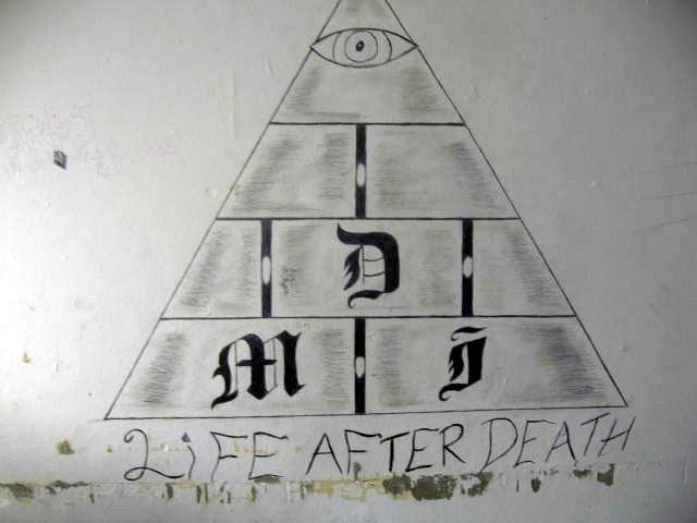 Dead Man Incorporated (DMI) is a violent prison gang that originated in the 1980s by three prison inmates.