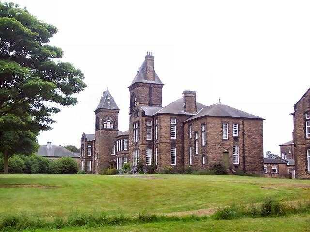 High Royds Hospital was located in West Yorkshire, England.