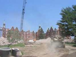 By 2006, most of the buildings of the Danvers State Insane Asylum were demolished. There are few remnants left of the asylum today.