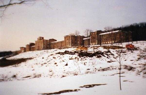 Located in Pittsburgh, Pa., Dixmont State Hospital was once known for its self-sufficient and park-like campus.