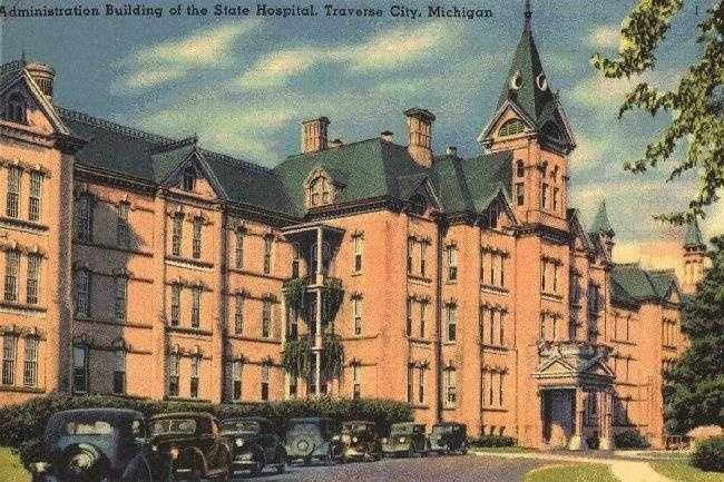 Traverse City State Hospital in Michigan was established in 1885 as the demand for more psychiatric hospitals began to grow.