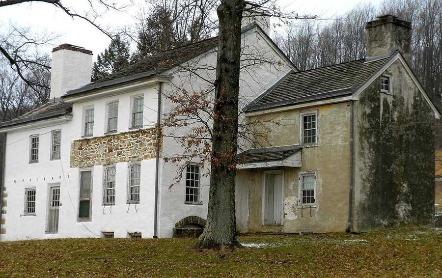 Valley Forge, where the Continental Army spent the winter of 1777-1778 during the American Revolutionary War, is preserved by the National Historic Park,