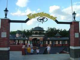 Kennywood is the amusement park that started the Kennywood Entertainment Company, and still has structures and rides dating back to its early 1900s opening.