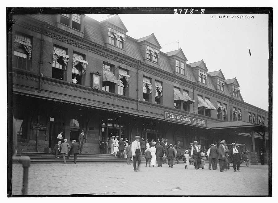The current station is the third on site and was originally built by the Pa. Railroad in 1887, but was rebuilt in 1905 after a serious fire in 1904.