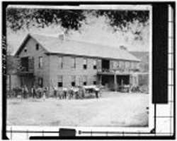 Gruber Wagon Works was declared a National Historic Landmark in 1977.