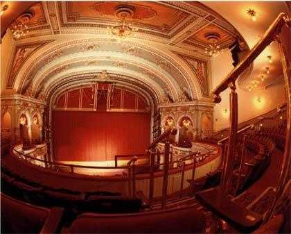 It is one of only three theaters recognized as a National Historic Landmark.