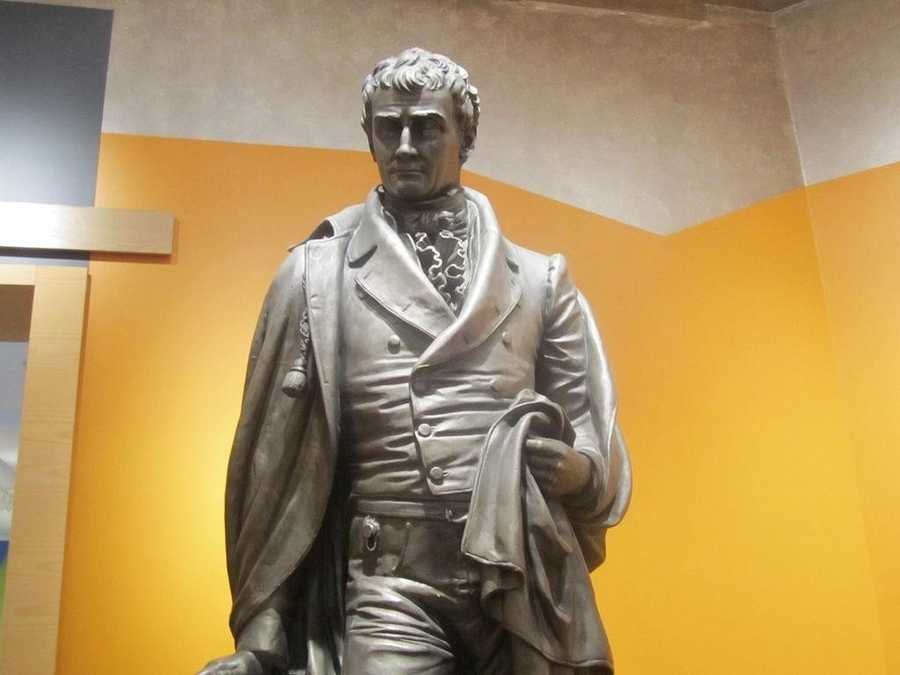 The Fulton Opera House in Lancaster is named after Robert Fulton, Lancaster County's steam engineer operator.