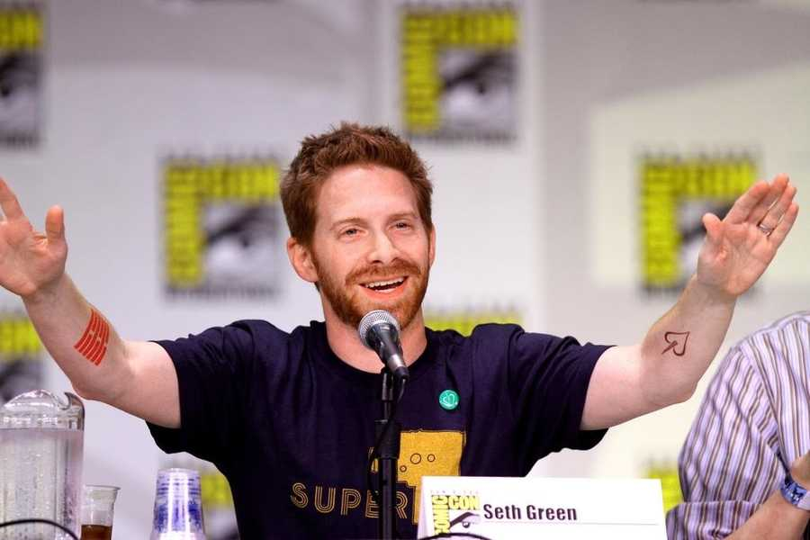 """Seth Green: Born in Philadelphia, the actor provides the voice of Chris on """"Family Guy"""" and played Oz on the TV show """"Buffy the Vampire Slayer."""""""