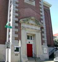 …St. Augustine Catholic Church in Philadelphia (shown) and the Striped Bass in Philadelphia.