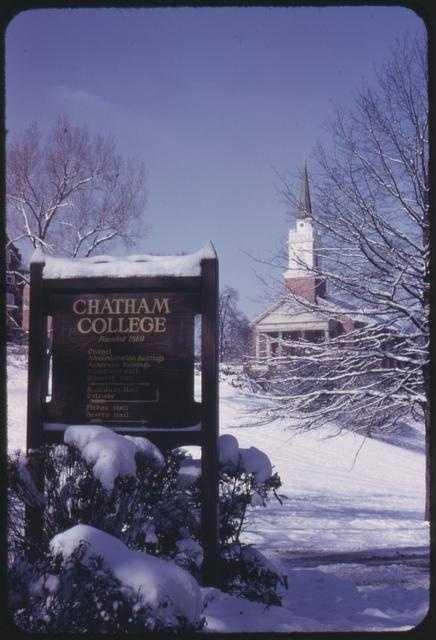 …Chatham College…