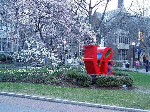 …and on the campus of the University of Pennsylvania.